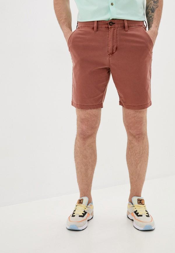 мужские повседневные шорты billabong, коричневые