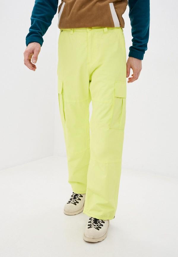 мужские брюки billabong, желтые