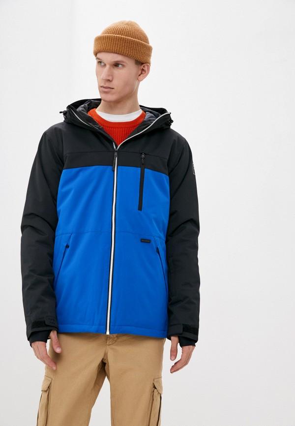 мужская куртка billabong, синяя