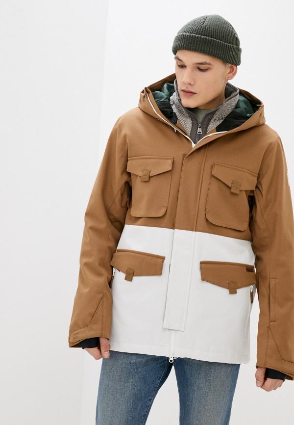 мужская куртка billabong, бежевая