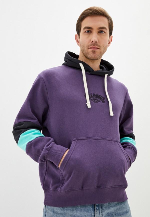 мужские худи billabong, фиолетовые