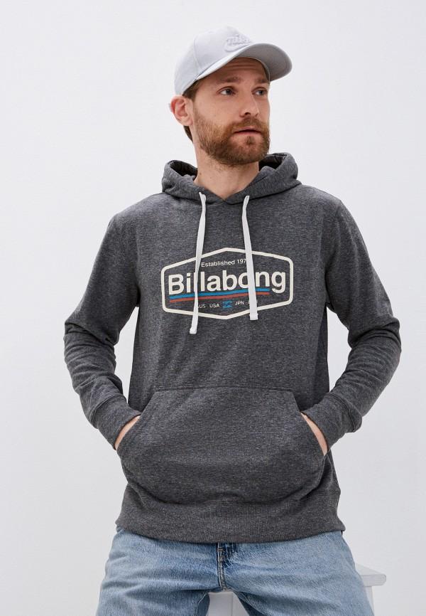 мужские худи billabong, серые