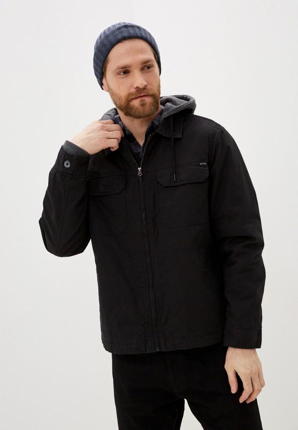мужская джинсовые куртка billabong, черная