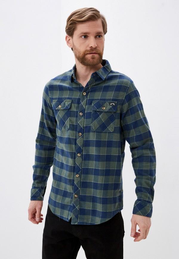 мужская рубашка с длинным рукавом billabong, разноцветная