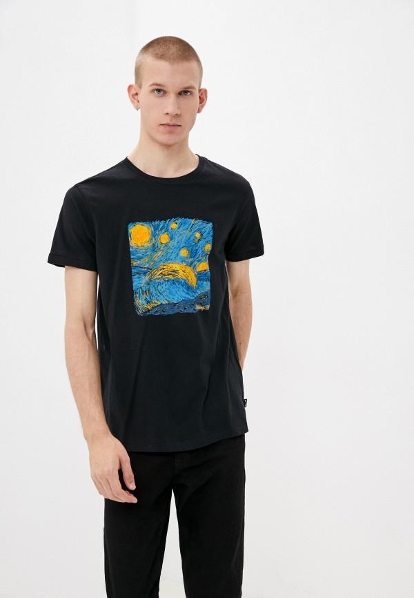 мужская футболка с коротким рукавом billabong, черная