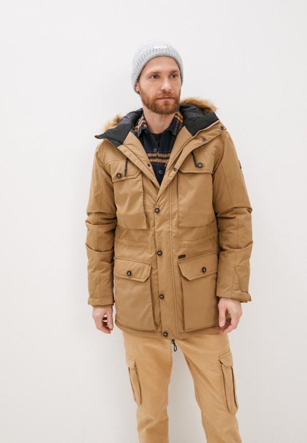 Куртка утепленная Billabong FAIRVIEW STX ADIV PA, цвет бежевый, размер 46 купить во Vseblaga.ru