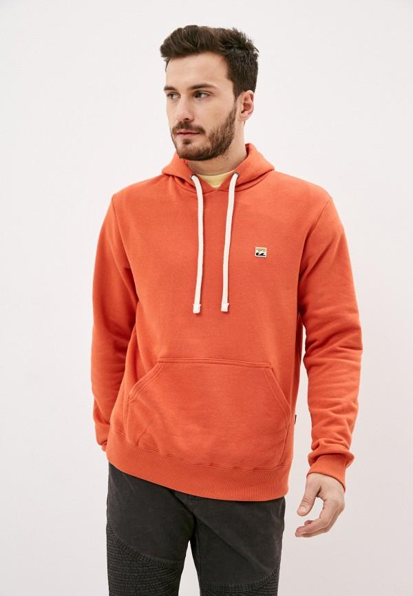 мужские худи billabong, оранжевые