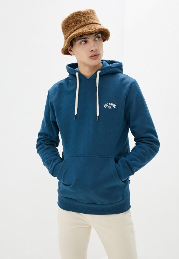 мужские худи billabong, синие