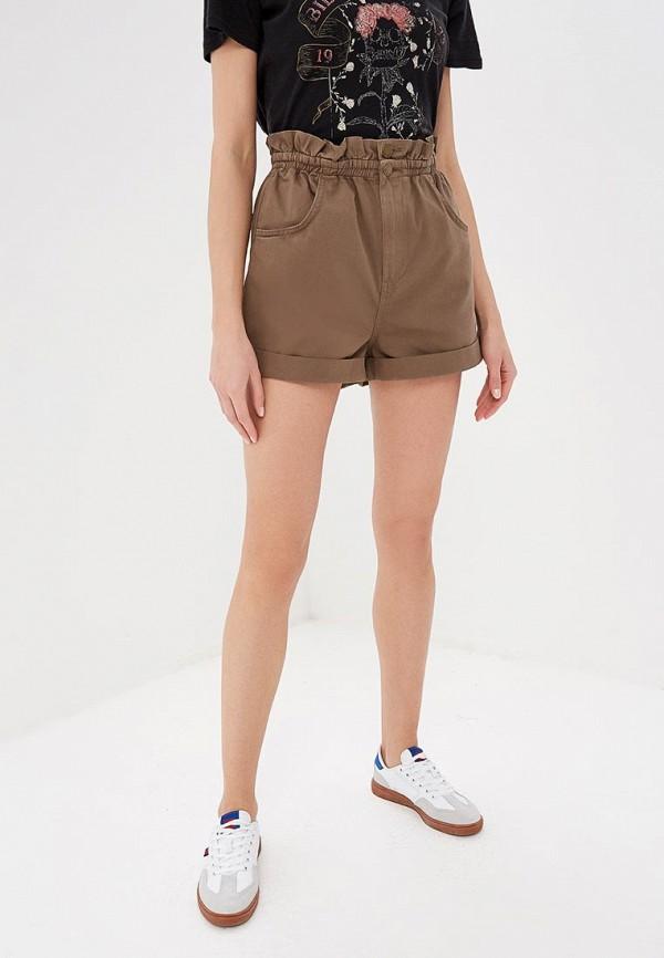 женские спортивные шорты billabong, хаки