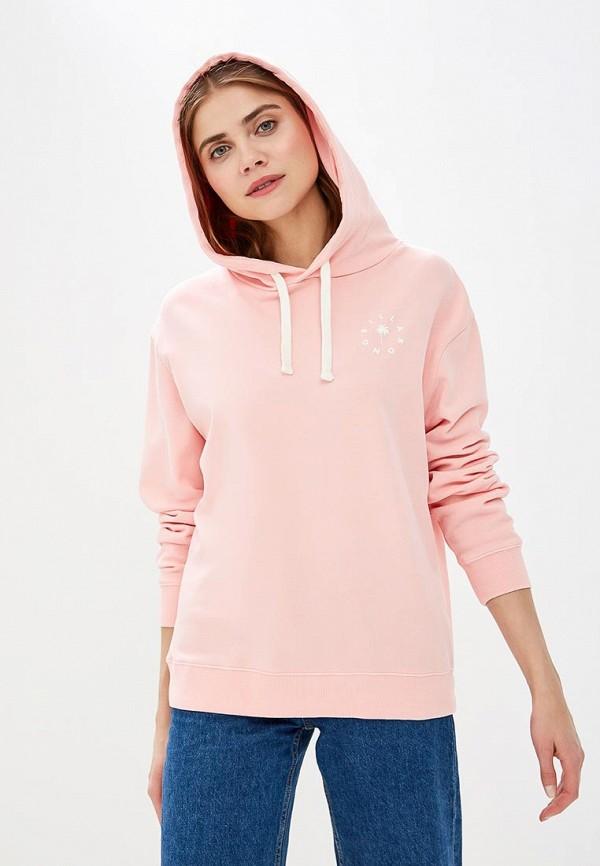 женские худи billabong, розовые