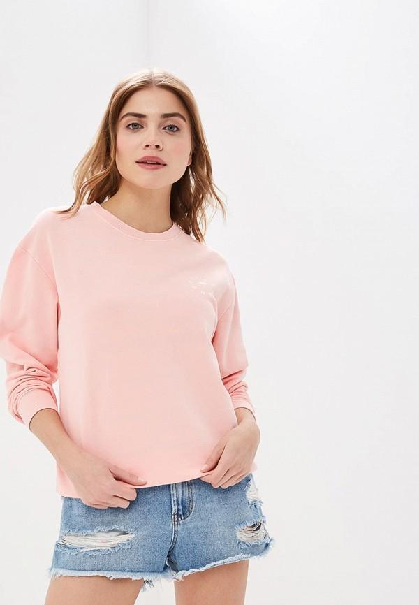 женский свитшот billabong, розовый