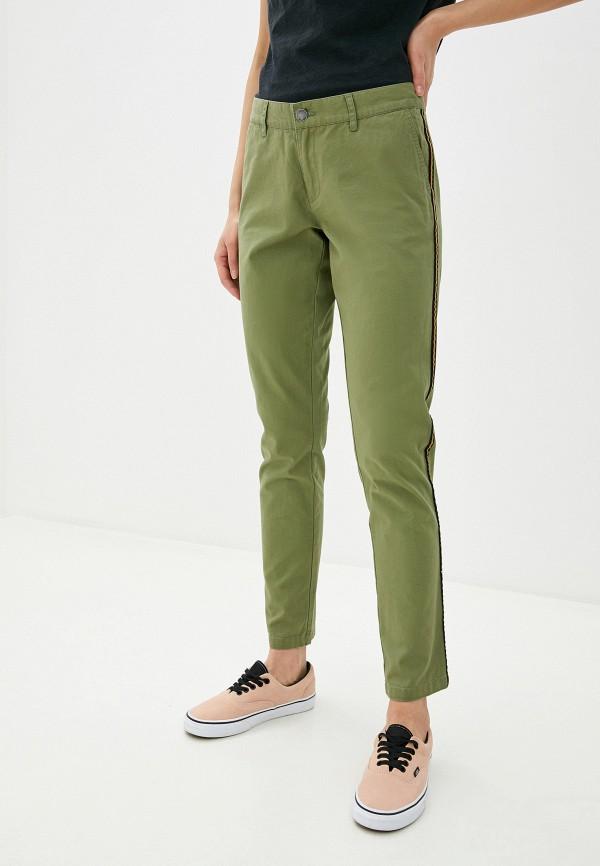 женские брюки billabong, хаки