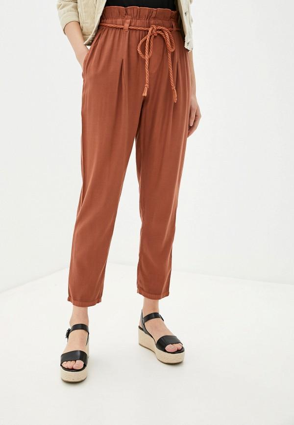 женские брюки billabong, коричневые