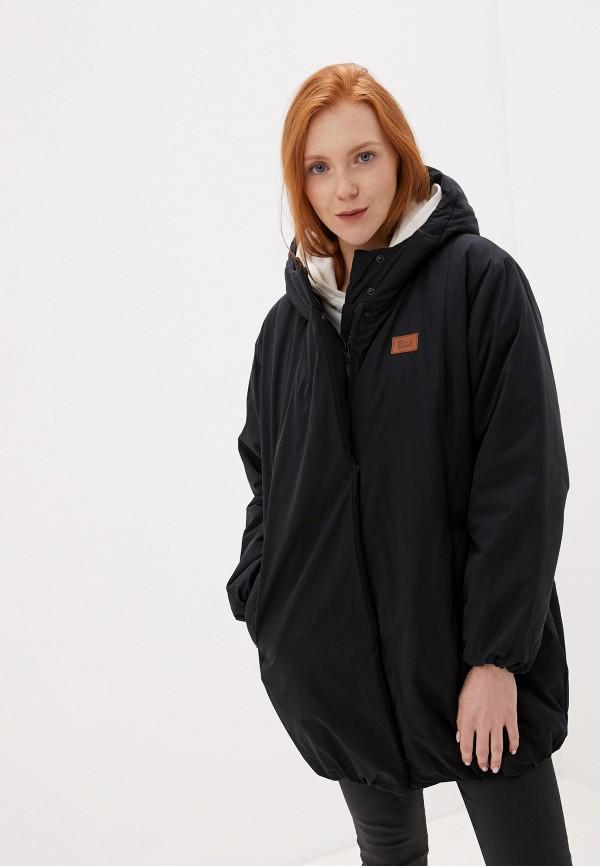 женская куртка billabong, черная