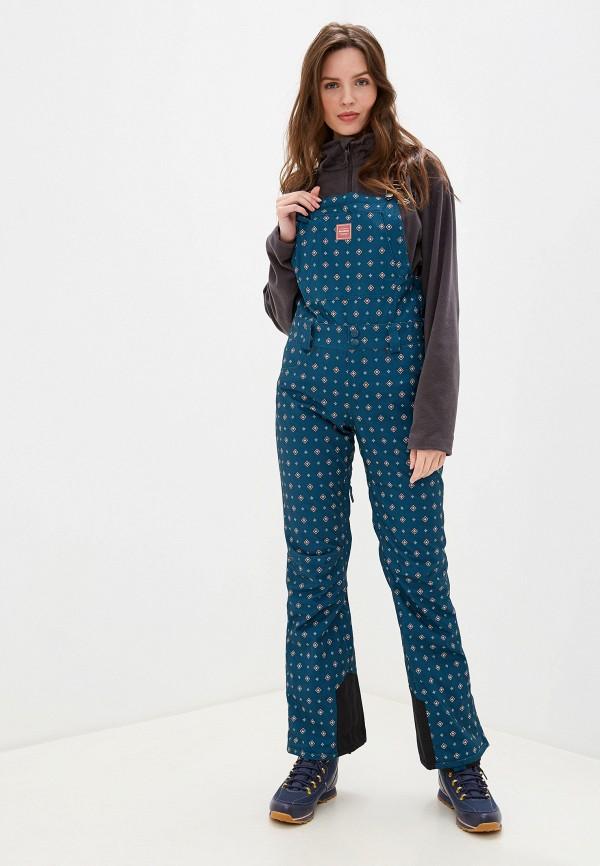 женские брюки billabong, синие