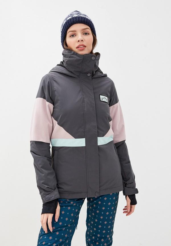 женская куртка billabong, серая