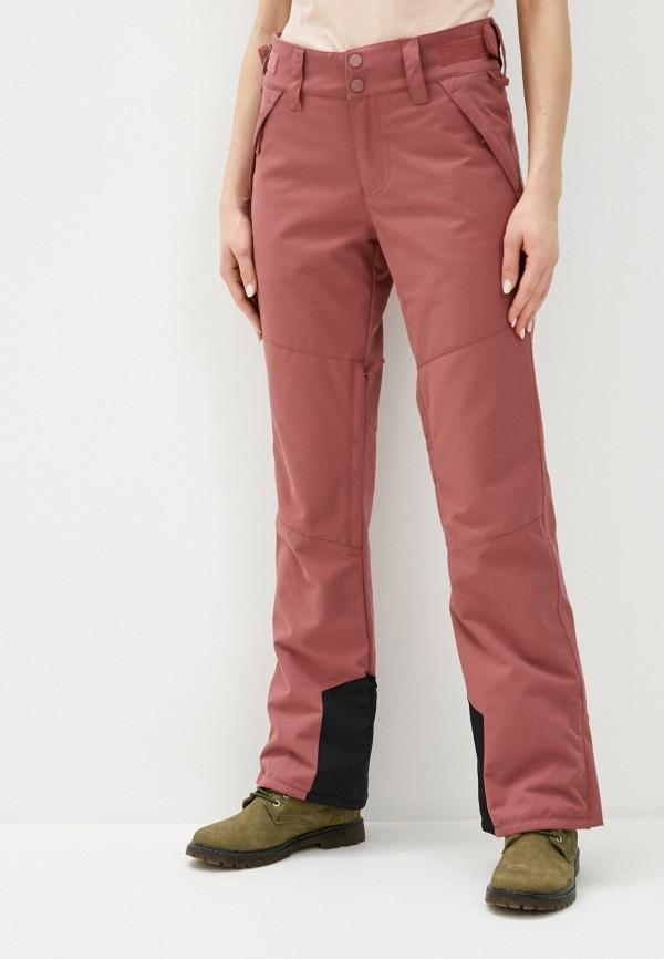 женские брюки billabong, бордовые