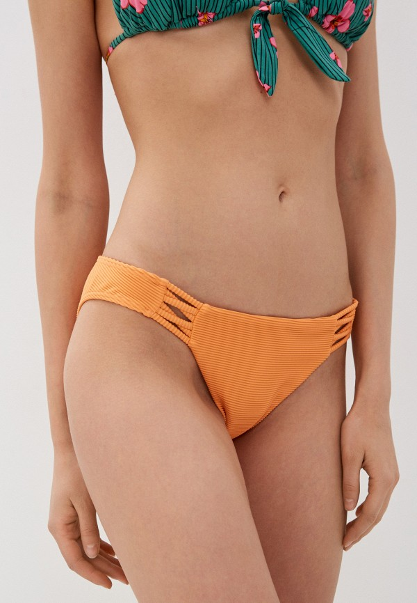 женские плавки billabong, оранжевые