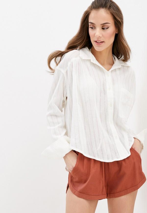 женская блузка billabong, белая