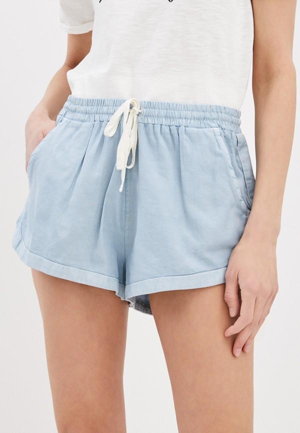 женские шорты billabong, синие