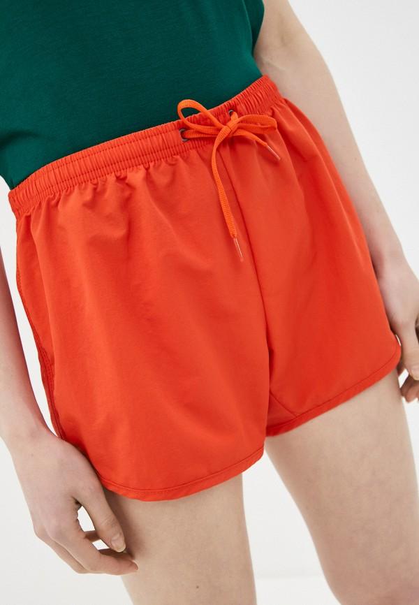 женские спортивные шорты billabong, красные