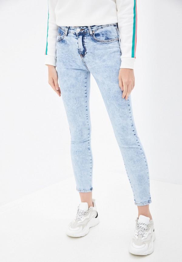 женские джинсы скинни billabong, голубые