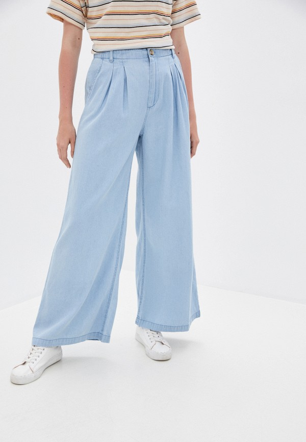 женские брюки billabong, голубые