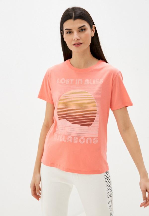 женская футболка billabong
