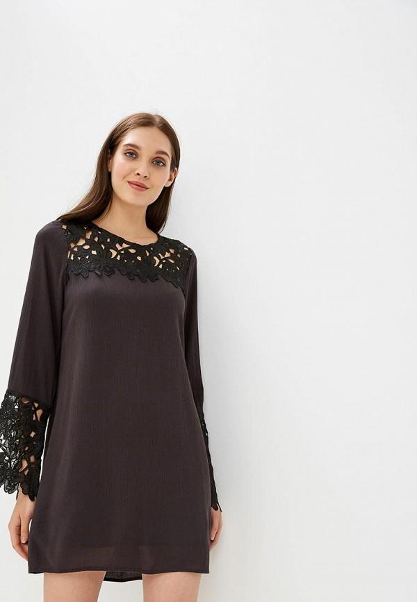 женское вечерние платье billabong, черное