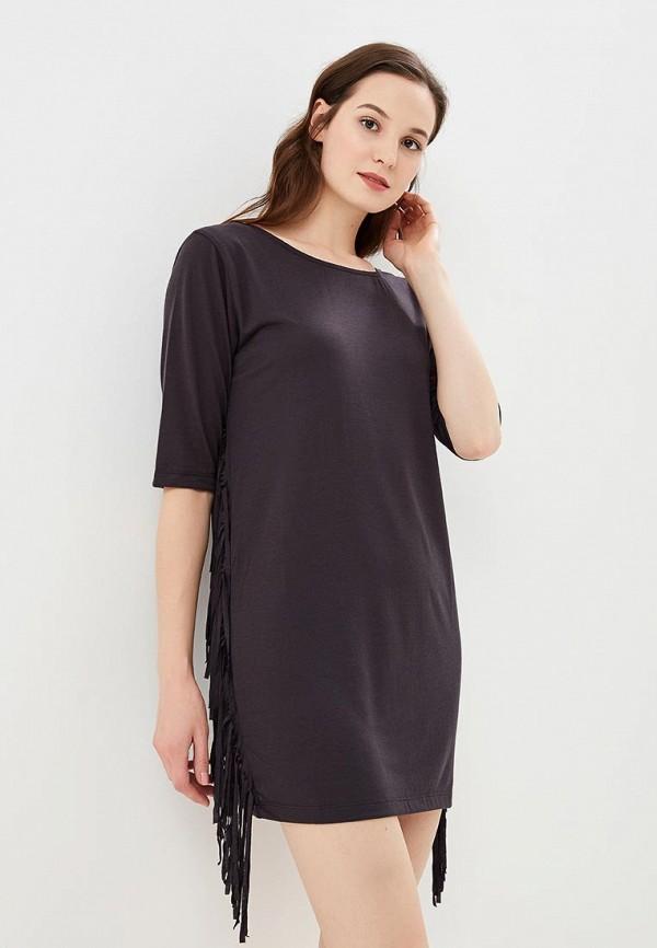 женское платье billabong, серое