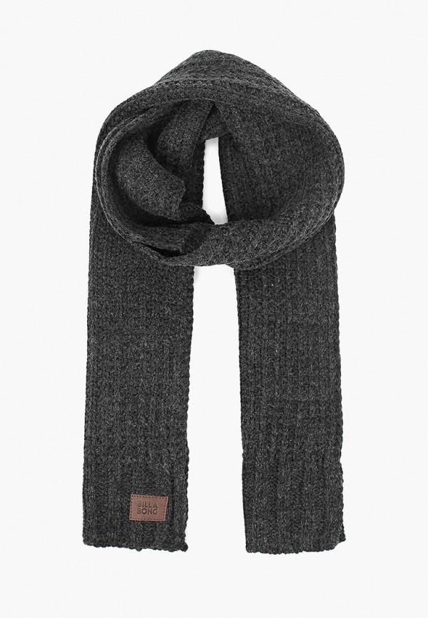 мужской шарф billabong, черный