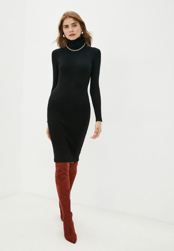 женское платье bigtora, черное