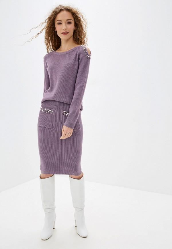 женский костюм bigtora, фиолетовый