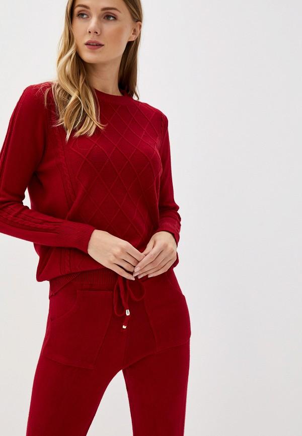Фото 2 - женский костюм Bigtora бордового цвета