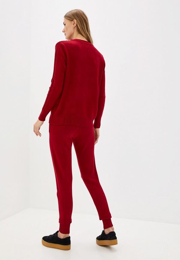 Фото 3 - женский костюм Bigtora бордового цвета