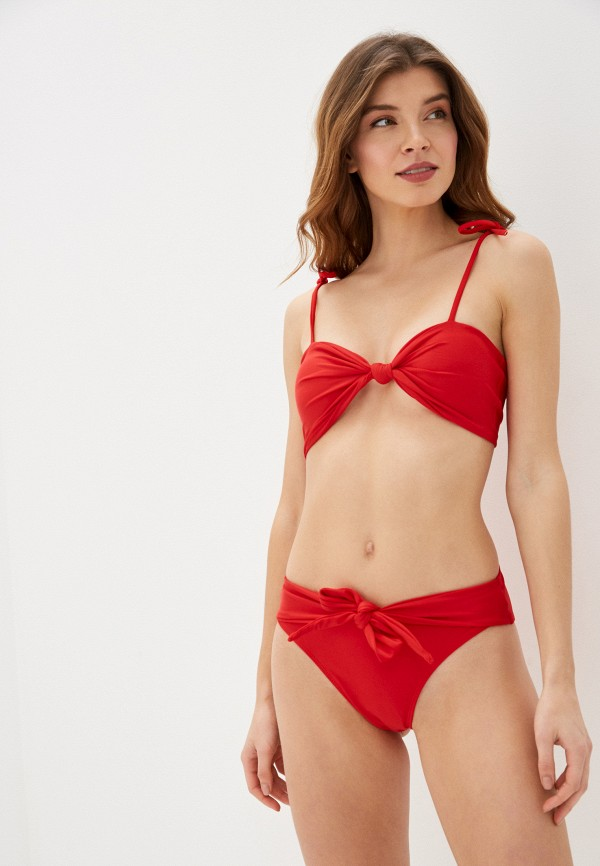 женский купальник bigtora, красный