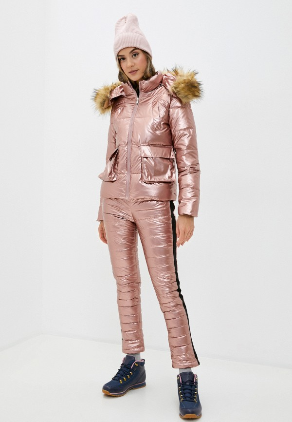 женские комбинезоны и костюмы bigtora, розовые