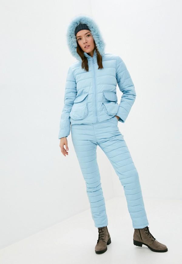 женские комбинезоны и костюмы bigtora, голубые