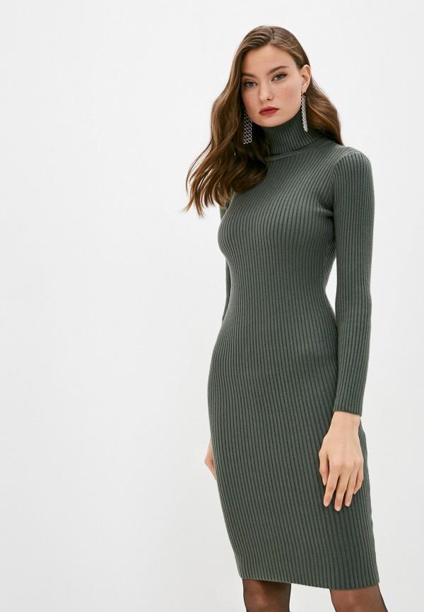 женское платье bigtora, хаки