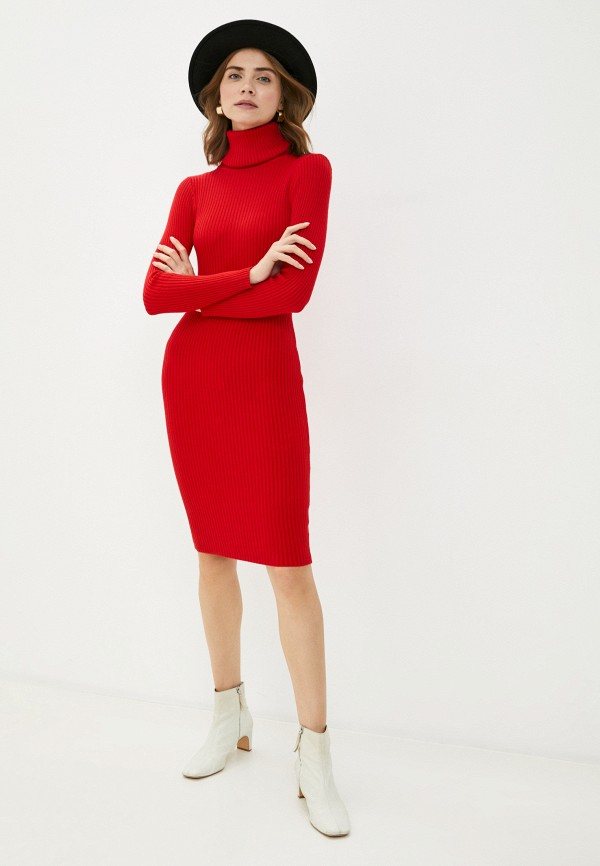 женское платье bigtora, красное