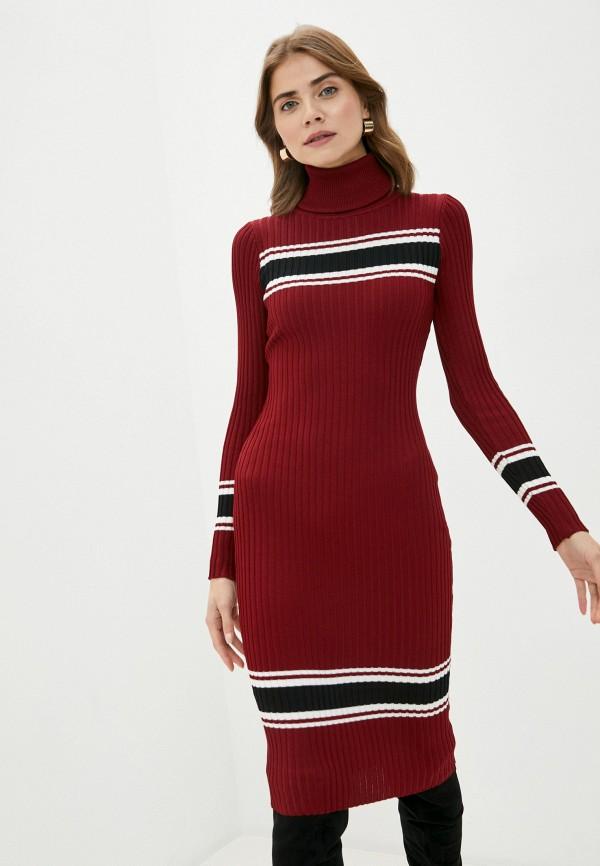 женское платье bigtora, бордовое