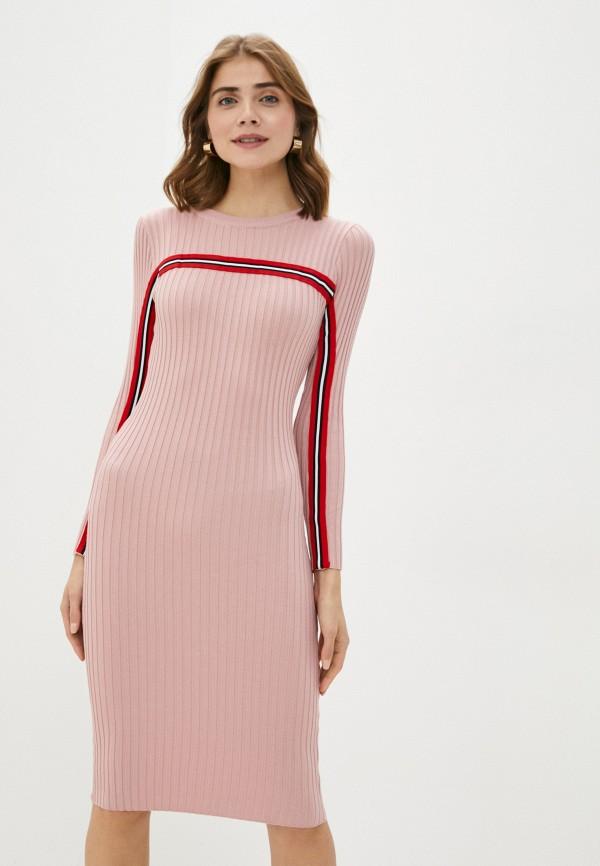 женское платье bigtora, розовое