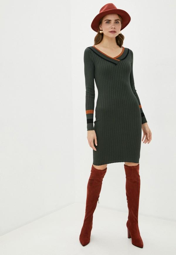 женское платье bigtora, зеленое