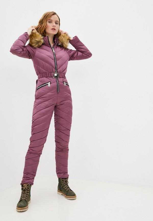 женские комбинезоны и костюмы bigtora, фиолетовые