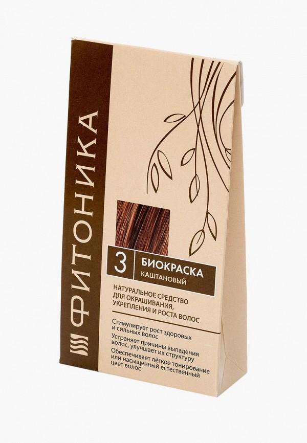 Купить Краска для волос БиоБьюти, Фитоника №3 каштановый 150 г, bi021lwbopa6, коричневый, Весна-лето 2019