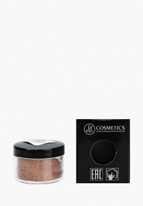 тени для век биобьюти, коричневый