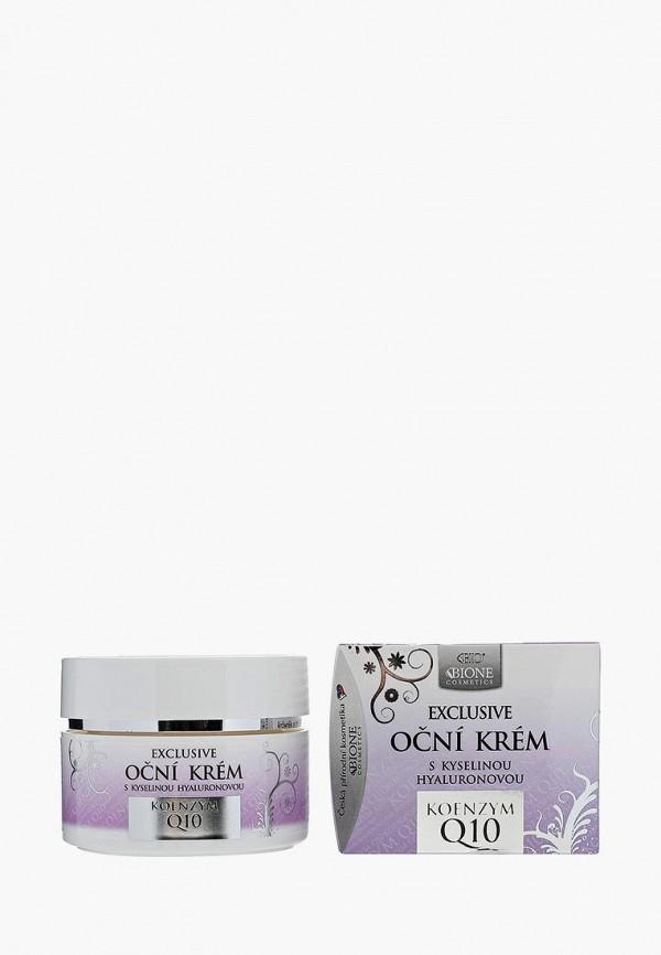 Купить Крем для кожи вокруг глаз Bione Cosmetics, с гиалуроновой кислотой EXCLUSIVE Q10, bi022lwujp06, Весна-лето 2019