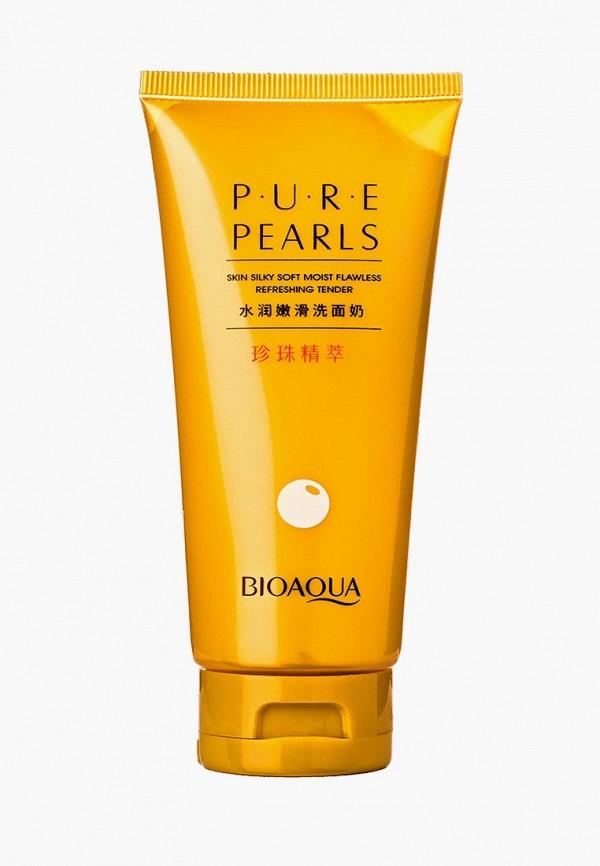 Пенка для умывания Bioaqua, Pure Pearls. 100 гр, bi025lwdjgf2, белый, Весна-лето 2019  - купить со скидкой