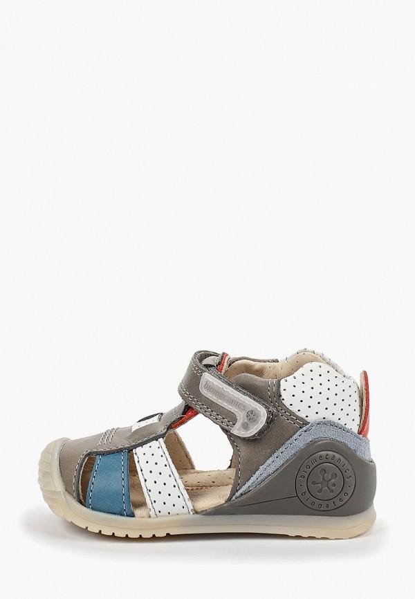 сандалии biomecanics для мальчика, разноцветные