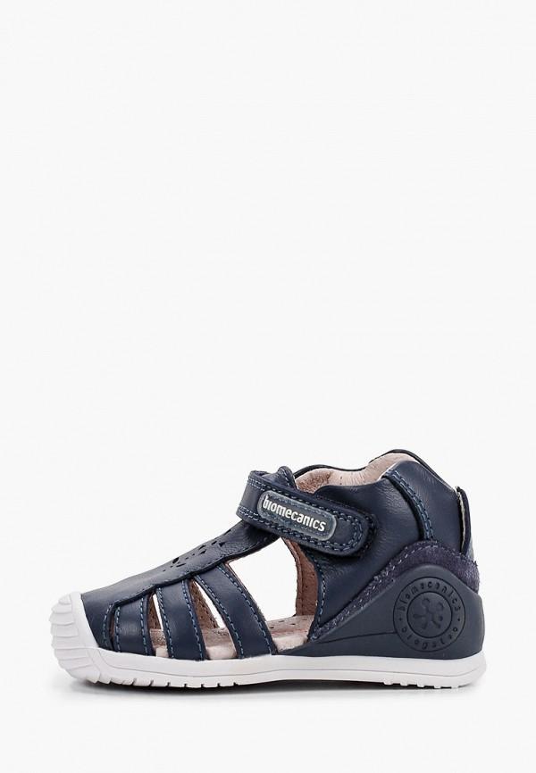 сандалии biomecanics для мальчика, синие